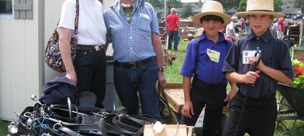 visitors attend the Lancaster County Carriage & Antique Auction