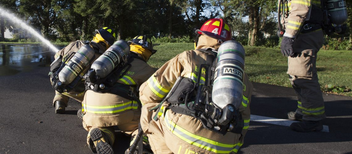 Since the air pack is a firefighter's lifeline, it is one of the most important pieces of equipment he uses.